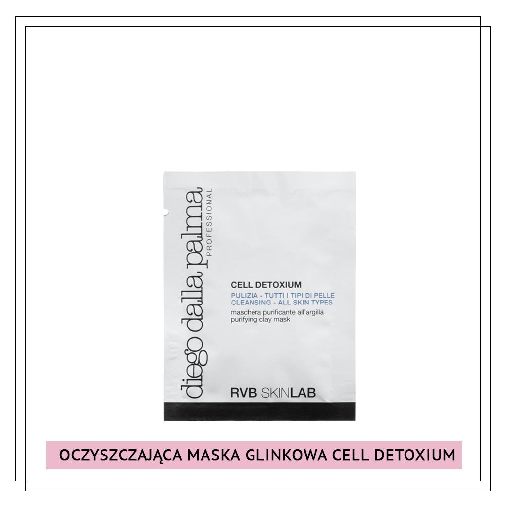 OCZYSZCZAJACA MASKA CELL DETIOXIUM